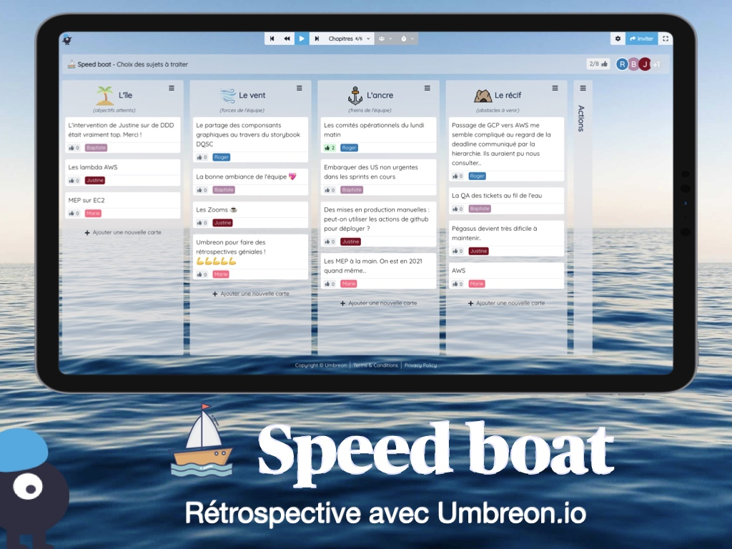Rétrospective Speed boat